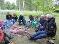 Grillkväll Vilsegläntan juni 2012 1